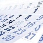 AGENDA – Informações Sobre os Eventos Listados