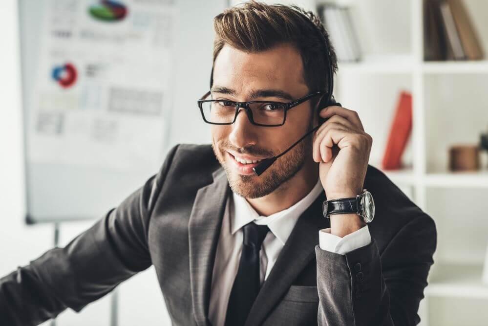 prospecção de clientes por telefone